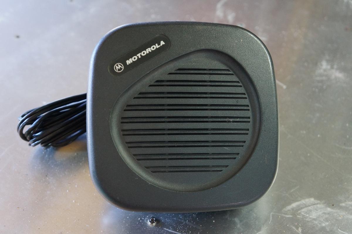 Motorola external loudspeaker