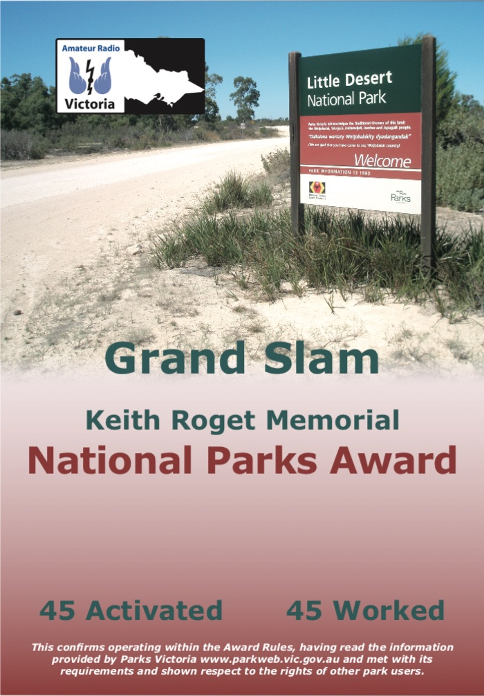 KRMNPA Grand Slam