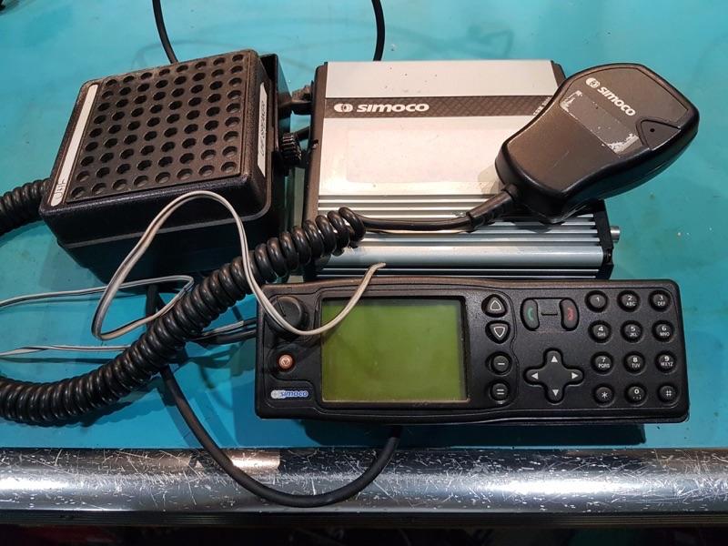 TK series Simoco UHF Radio